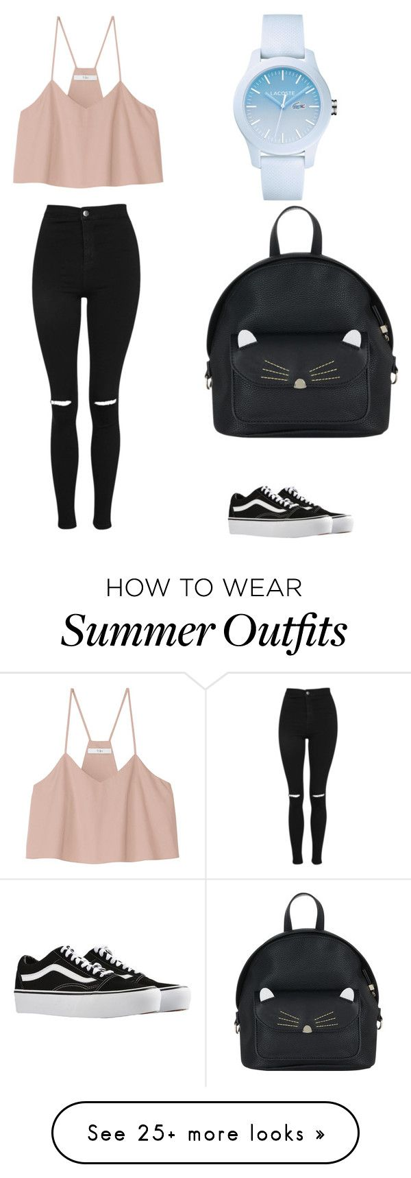 """Summer outfit"" by juste20052005 on Polyvore featuring Topshop, TIBI, ..."