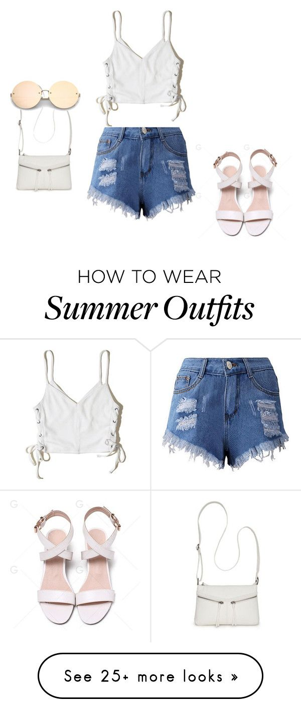 """Summer outfit"" by kesa-1 on Polyvore featuring Hollister Co. and Buen..."