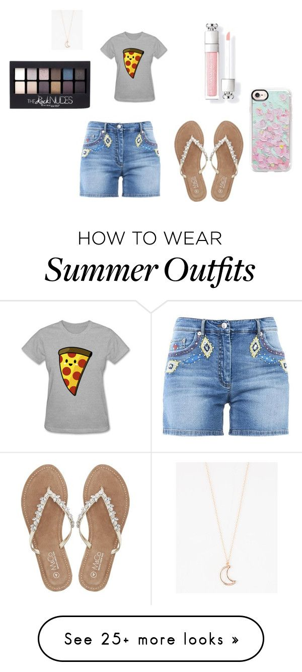 """summer outfit"" by marusha-mia-pride on Polyvore featuring Moschino, M..."