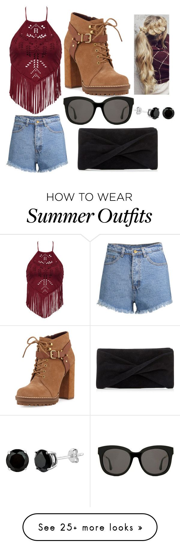 """Summer Outfit: Kai"" by scarletpeak on Polyvore featuring BCBGeneratio..."