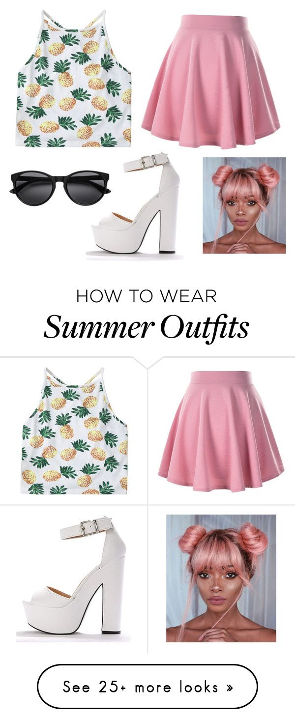 """""""Summer outfit under £20"""" by bobbabarney on Polyvore..."""