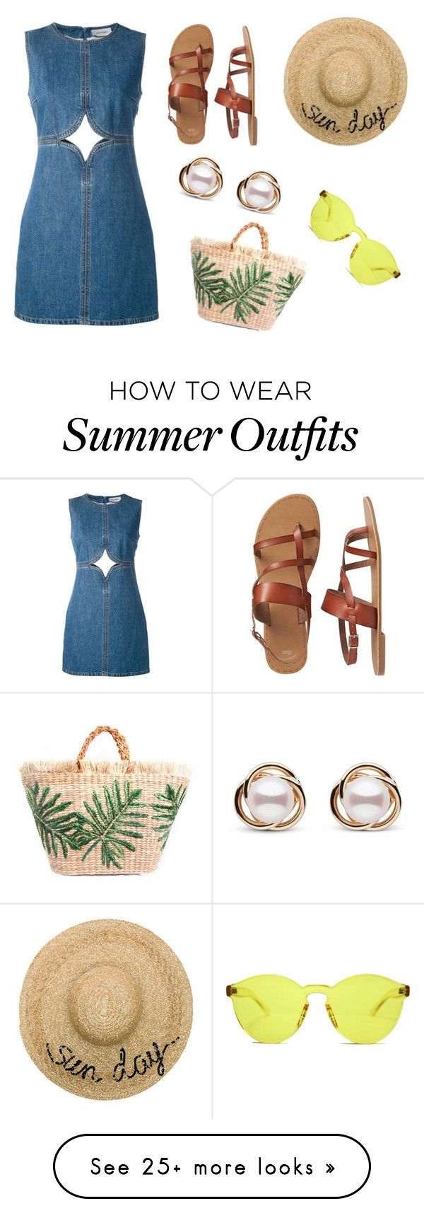 """""""Summer """"Sun Day""""; Suggested items outfit"""" by natsof7 on Pol..."""