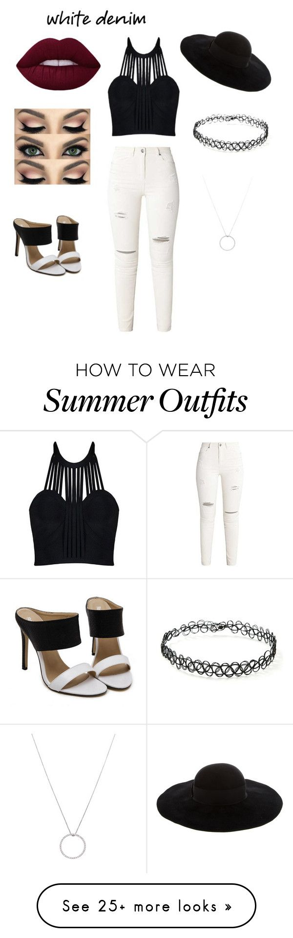 """""""super cute outfit"""" by jinxxbabyx on Polyvore featuring Eugenia Kim, F..."""