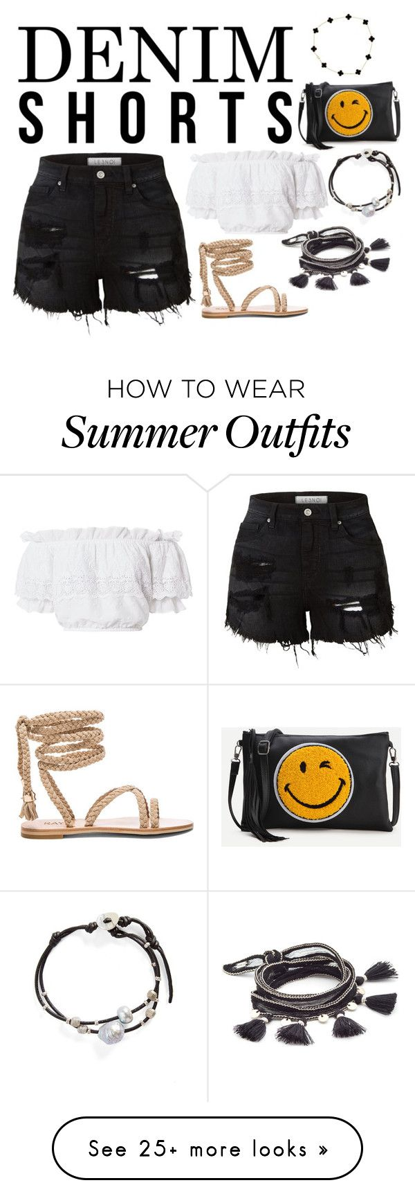 """""""Trendy Outfit"""" by jmrynar on Polyvore featuring Chan Luu, LE3NO, Love..."""