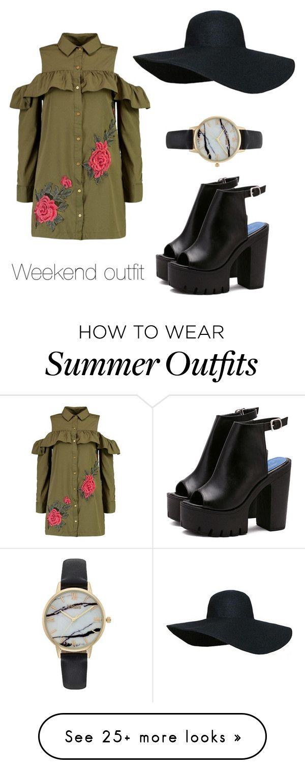 """Weekend outfit"" by juanita-cherrell-taylor on Polyvore featuring Booh..."