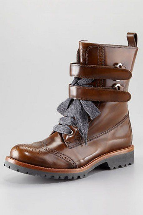 Awesome wing tips boots