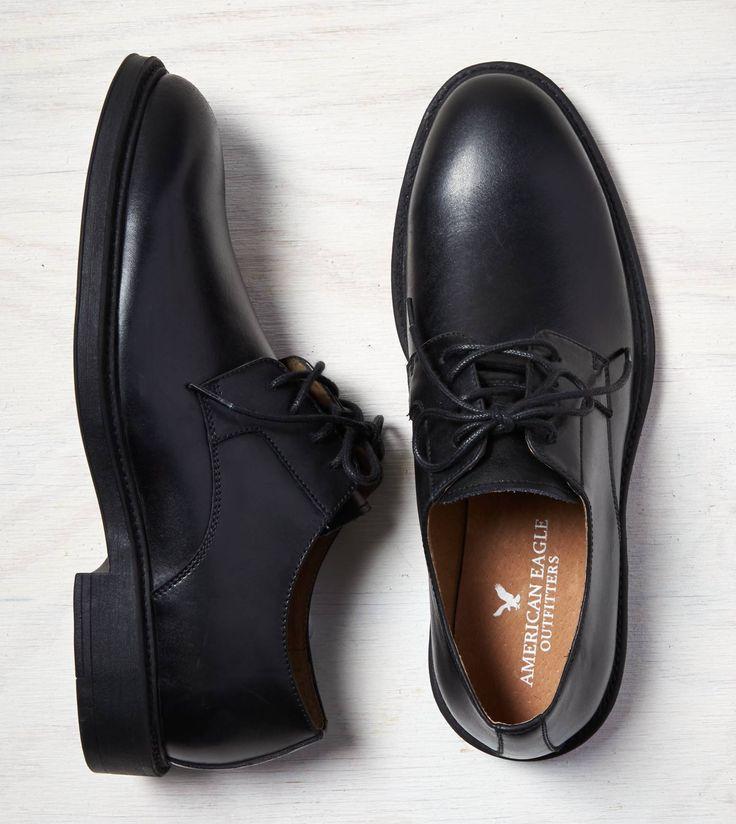 Black AEO Leather Oxford...