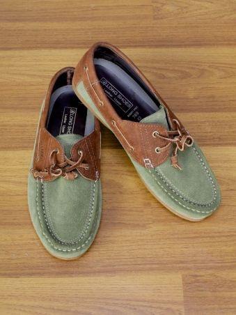 Bradwin Leather Shoes (Pale Green)
