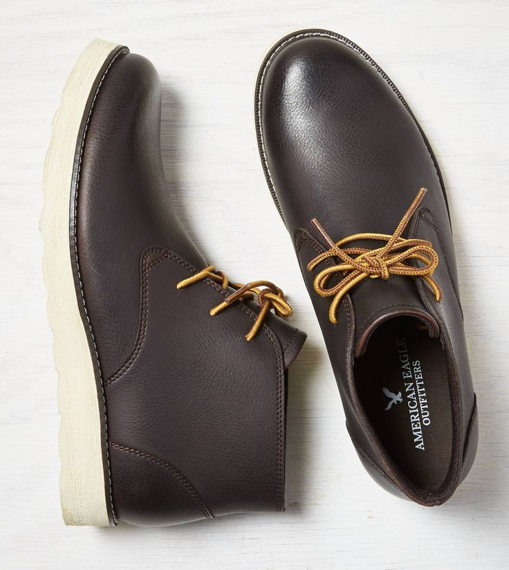 0c1be07a5fa The Best Men s Shoes And Footwear   Brown AEO Leather Chukka ...