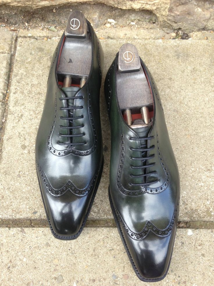 Deco Papworth in Racing Green Calf with Wensum Rubber Soles