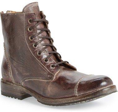 Nordstrom - Bed Stu 'Protégé' Cap Toe Boot (Men)