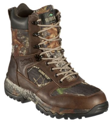 RedHead 74604860 8 in. Side-Zip GORE-TEX Insulated Waterproof Hunting Boots for ...