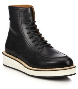 Givenchy Rottweiler Philippo Leather Ankle Boots