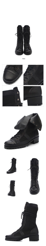 Shoes :: Buffalo Skin Mix Walker Boots-Shoes 24