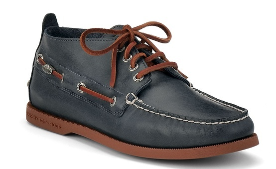 Sperry Top-sider  Men's Cloud Logo Authentic Original Relaxed Leather Chukka Boo...