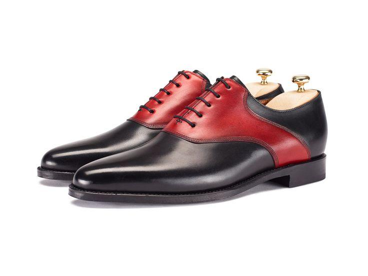 Stefano Black Box Calf - Red Calf...