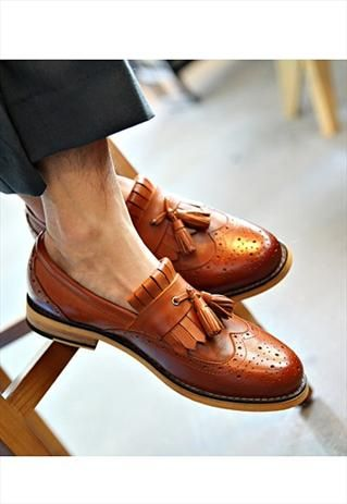 Tessel hollow leather #men's #shoes #fashion...