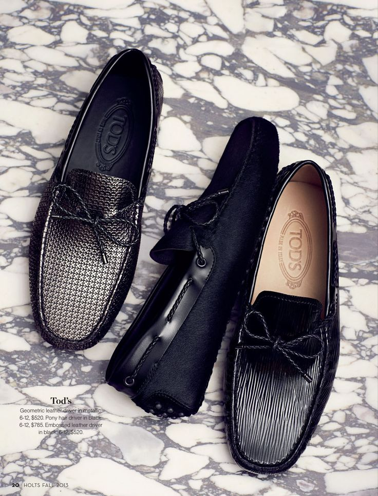 Tod's- leather drivers