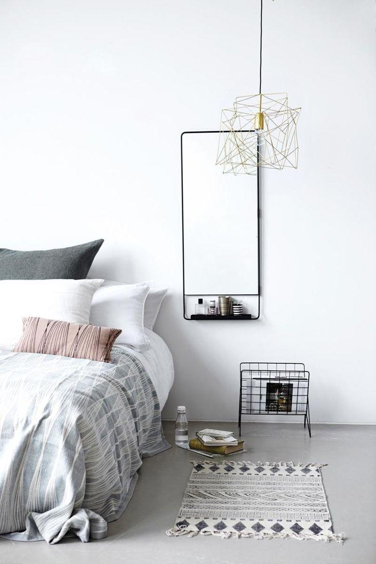 40 Minimalist Bedroom Ideas | Geometric Patterns