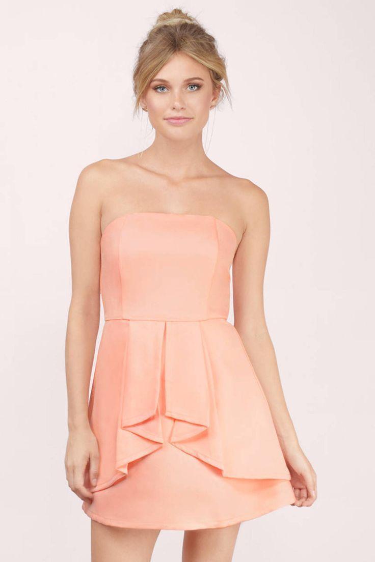 Love Story Tube Flare Dress