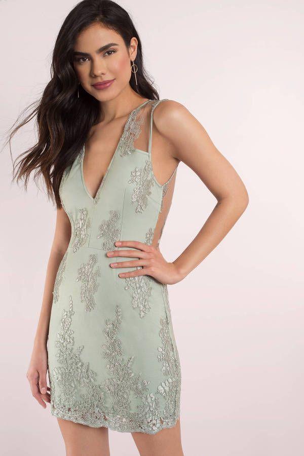 One Night Lace Bodycon Dress