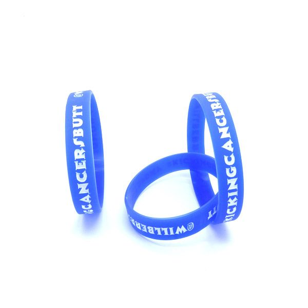 Trendy Silicone Wristband Cool Promotional Silicon