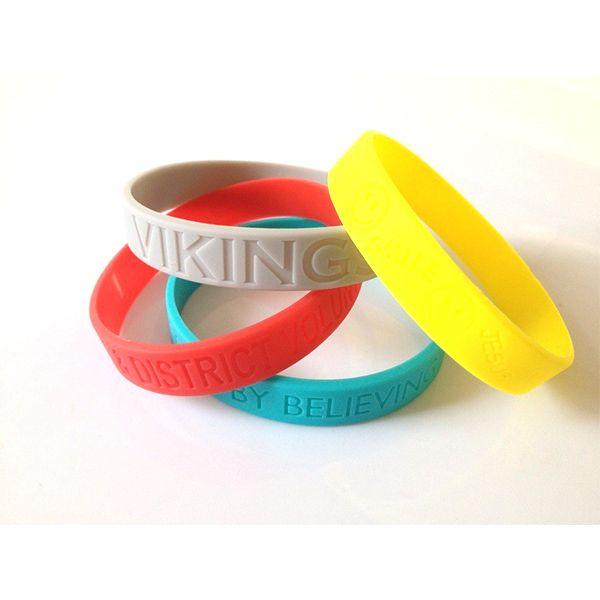 Fashion party silicone bracelets for super brand  #siliconewristband #customsili...