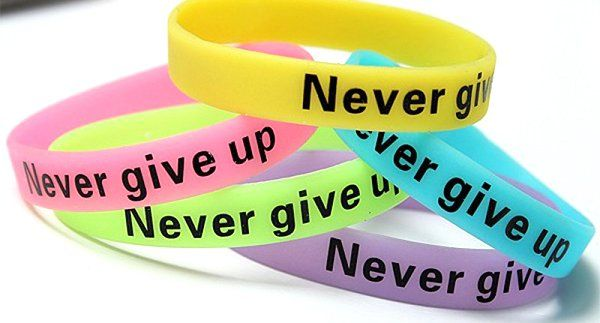 Whats the difference between a rubber wristband and a silicone wristband?  #sili...