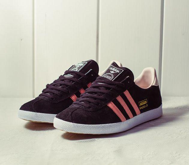 adidas Originals Gazelle – Black / St-Desert Pink – St-Fade