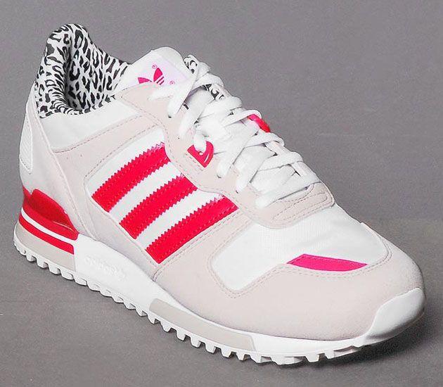 new concept 50fe4 3ec56 adidas Originals ZX 700 W – Bliss   Running White – Blaze Pink