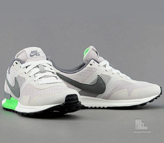 Nike WMNS Air Pegasus 83/30 – Mortar / Mercury Grey – Flash Lime