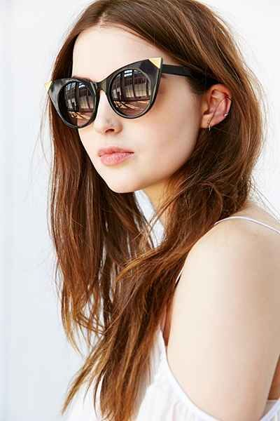 Dagger Cat-Eye Sunglasses