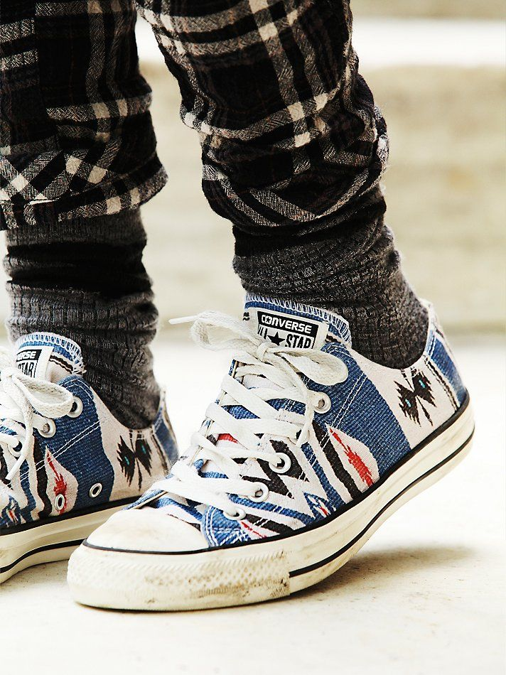 Free People Blanket Ox Chucks, $60.00...