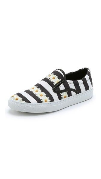Mother of Pearl Achilles Slip On Sneakers...