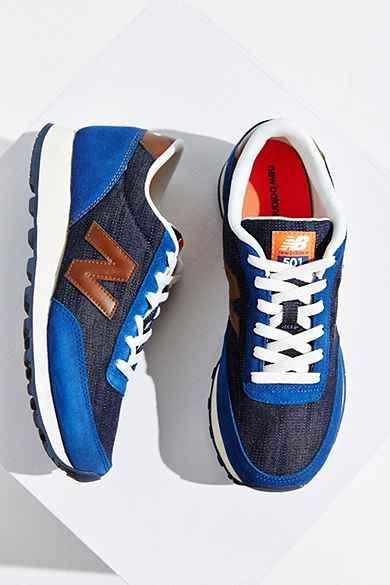 New Balance 501 Vintage Indigo Running Sneaker...