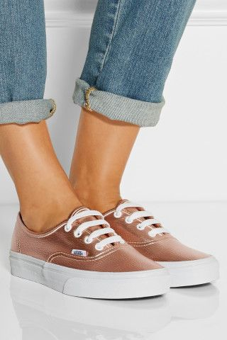 Vans | Metallic leather sneakers...