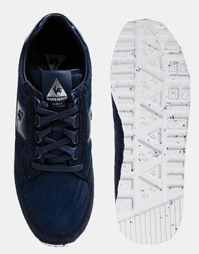 WHITE x Le Coq Sportif Eclat Sneakers with Ponyskin Effect...