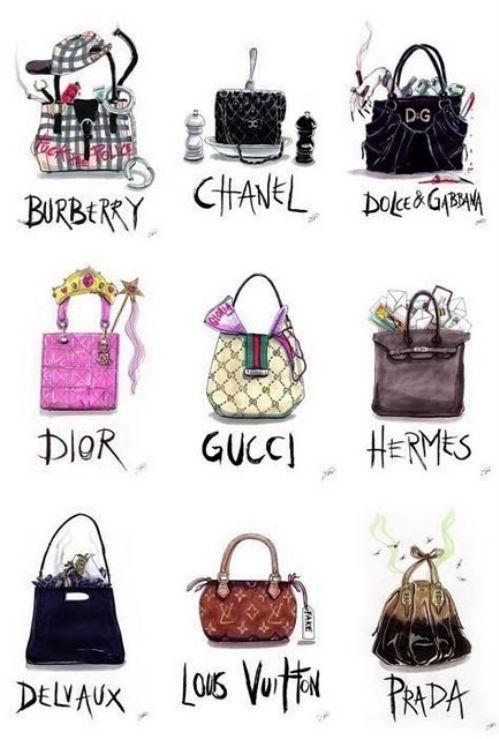 Designer bag stereotypes