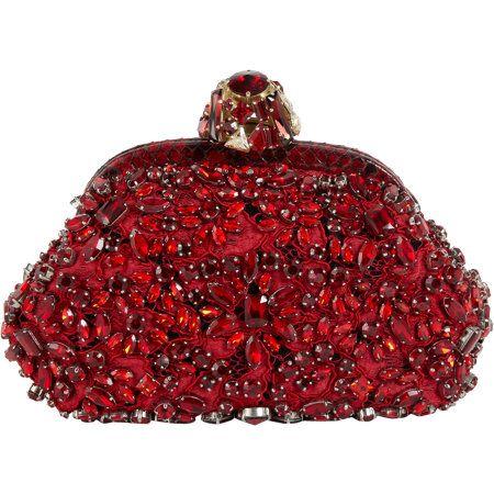Dolce & Gabbana Miss Dea Embellished Clutch
