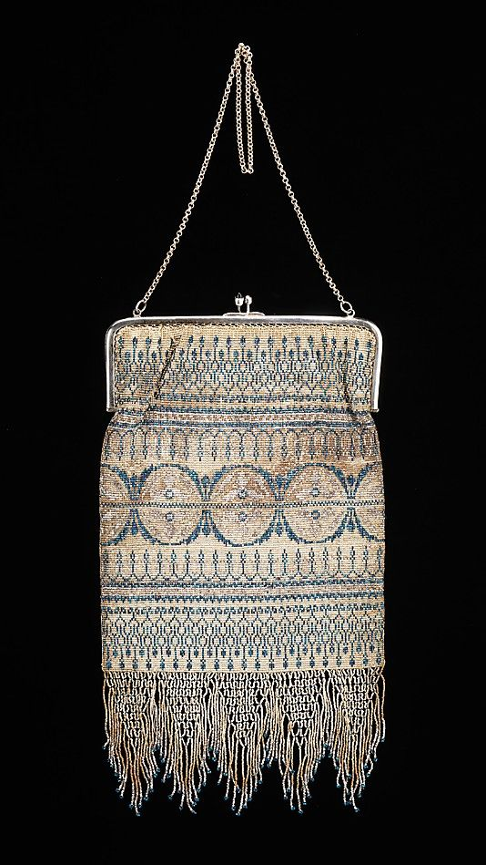 Evening Purse - French   c.1925  -  The Metropolitan Museum Of Art