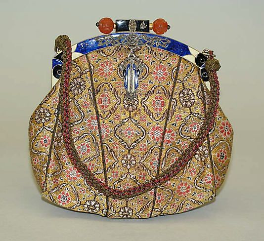 French purse, mid-1920s...