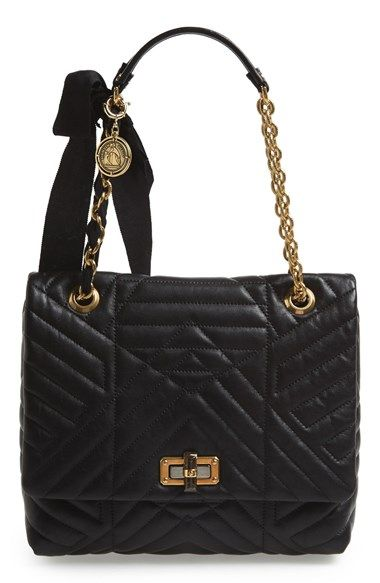 I love with this Lanvin bag....