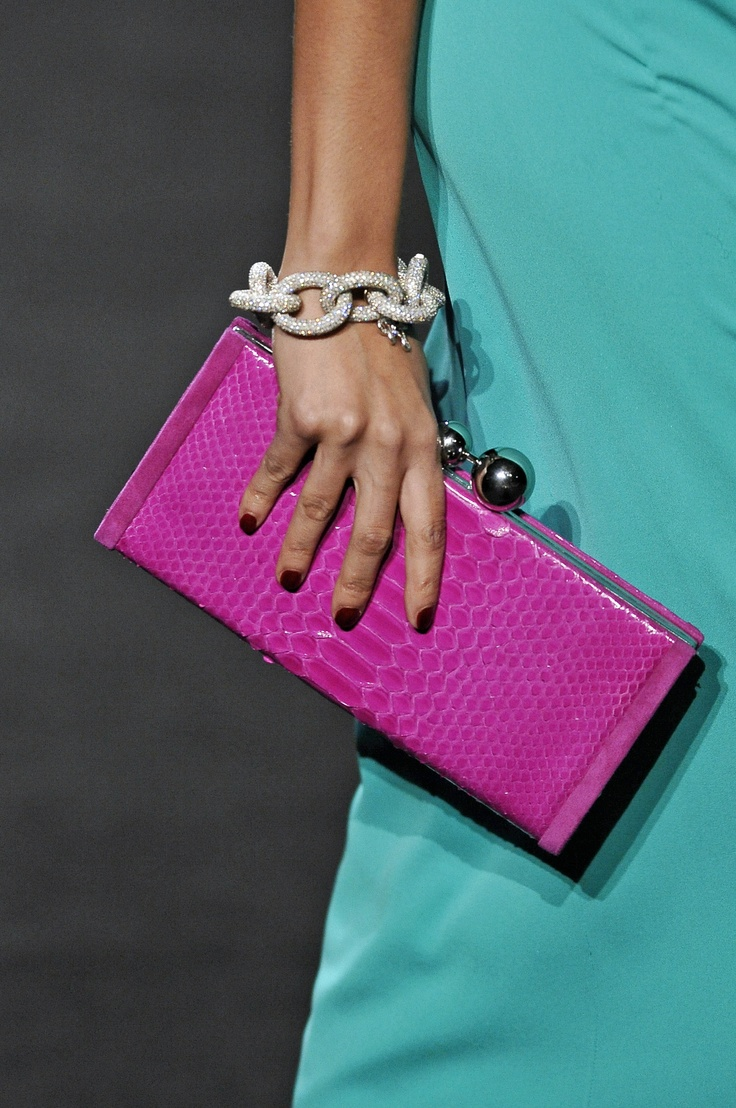 PANTONE Color of the Year 2014 - Radiant Orchid fashion- DVF