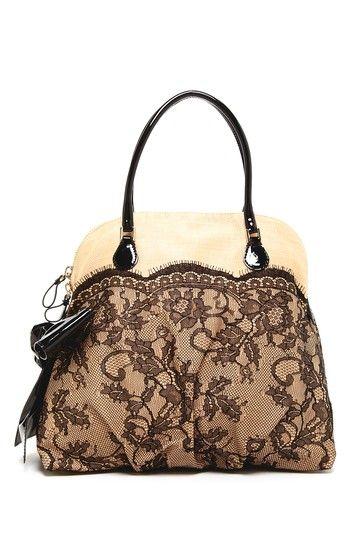 Valentino Raffia Lace Handbag on HauteLook...