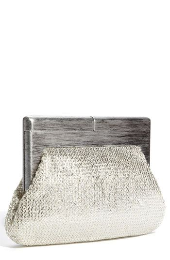 Wooden handle clutch-awesome!
