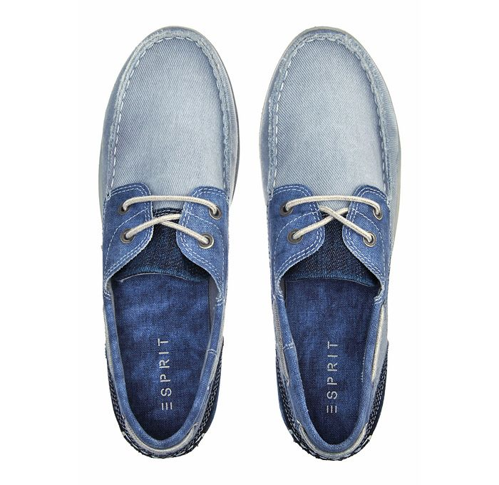 Esprit Denim Boat Shoes and Sneakers - Footwear 2013 Spring Summer Mens - Deck T...