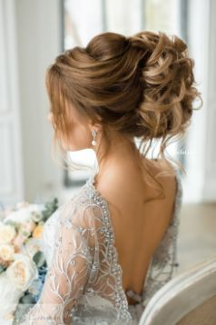 Featured Hairstyle: Elstile; www.elstile.com/; Wedding hairstyle idea....