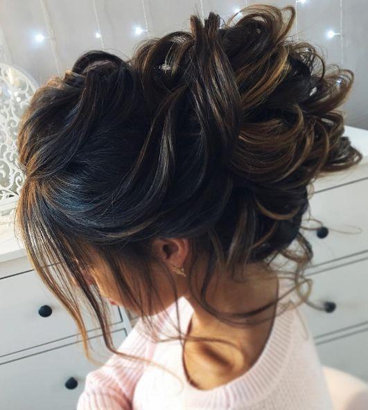 Featured Hairstyle: tonyastylist (Tonya Pushkareva); Wedding hairstyle idea....