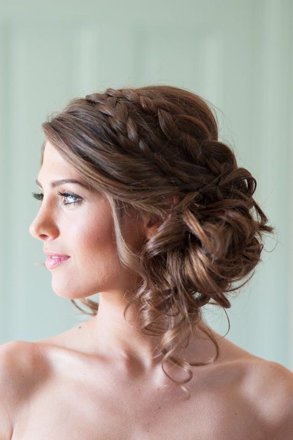 The Ultimate #Updo: Perfect for strapless dresses, this #hairstyle shows off you...