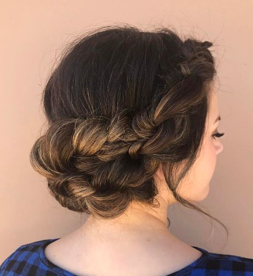 Featured Hairstyle: ashpettyhair; Wedding hairstyle idea....